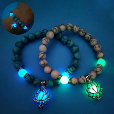 Beaded Bracelets, lotusbracelet, Jewelry, yogabracelet