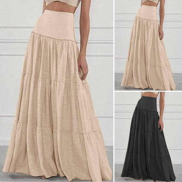 plussizeskirt, Fashion, Waist, looseskirt