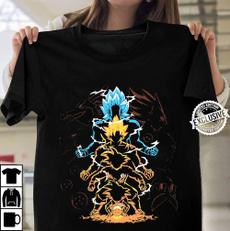 gokuevolutionstshirt, Summer, Tees & T-Shirts, Cotton Shirt