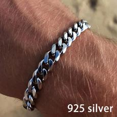 Steel, Chain bracelet, 18kgoldbracelet, Classics