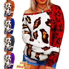 Fashion, tunic top, irregularhemtop, Long Sleeve