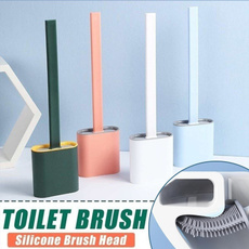 Bathroom, toiletcleaningbrush, Cleaning Supplies, Silicone