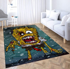 living, Mats, 3dprintcarpet, spongebobsquarepant