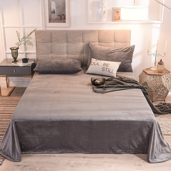 King, Polyester, thickenbedsheet, Sheets