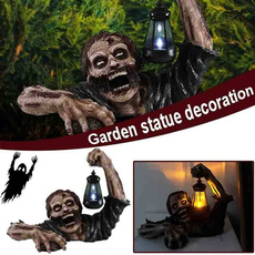 scary, Decor, Garden, walkingdead