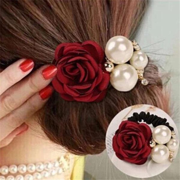 Korea fashion, Fashion, headdress, pearls