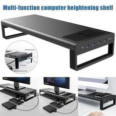 computerheightentable, monitordesktop, usb, computerstand
