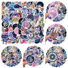 cute, zodiacnecklace, Stickers, nebula