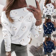 shirtsforwomen, Summer, Collar, Moda