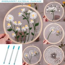 beginnerembroidery, embroiderymaterialkit, handicraft, embroiderykit