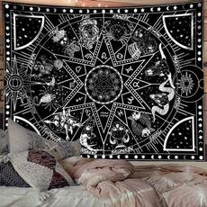 Yoga Mat, art, mandalatapestry, Home & Living