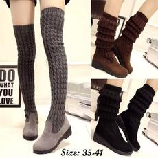 Knee High Boots, stylishoverkneeboot, Fashion, Elastic