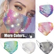 Fashion, dustmask, Jewelry, Makeup