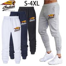 runningpant, elastic waist, printed, men trousers