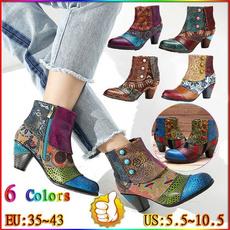 Fashion, casualbootsforwomen, vintagebootsforwomen, Ankle