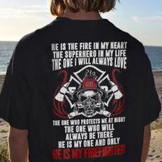Funny, firefighterteeshirt, Fashion, firefightertshirtsforwomen
