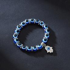 Charm Bracelet, Beaded Bracelets, blueeye, Joyería de pavo reales