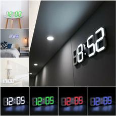 Modern, led, room, Clock