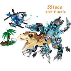 building, Toy, tyrannosauru, park