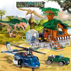 building, Toy, jurassic, house