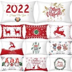 christmaspillowcase, case, Decoración, Decoración de hogar