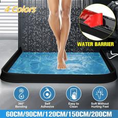 waterstopperstrip, Bathroom, waterbarrier, siliconewaterseparator