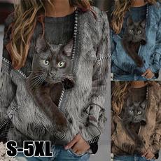 Plus Size, Long Sleeve, Women's Fashion, Fashion