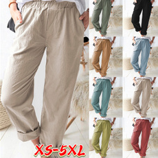 elastic waist, casualtrouser, Casual pants, pants