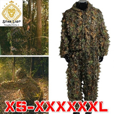 Outdoor, Hunting, leafyghilliesuit, Suits
