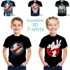 childrentshirt, ghostbuster, printed, personalitytshirt