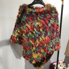 rainbow, Fashion, fur, Winter