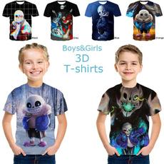Summer, childrentshirt, San, printed