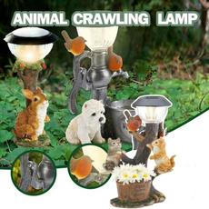Decor, resinlamp, Garden, Animal