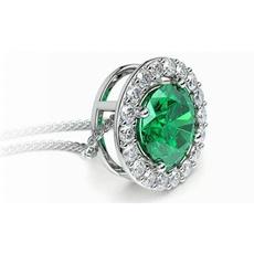 Sterling, DIAMOND, Simple, Emerald