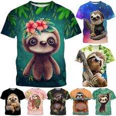 Summer, Fashion, Necks, sloth