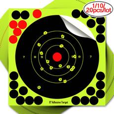 8inch, dart, ringpapertargetface, greenadhesivetarget