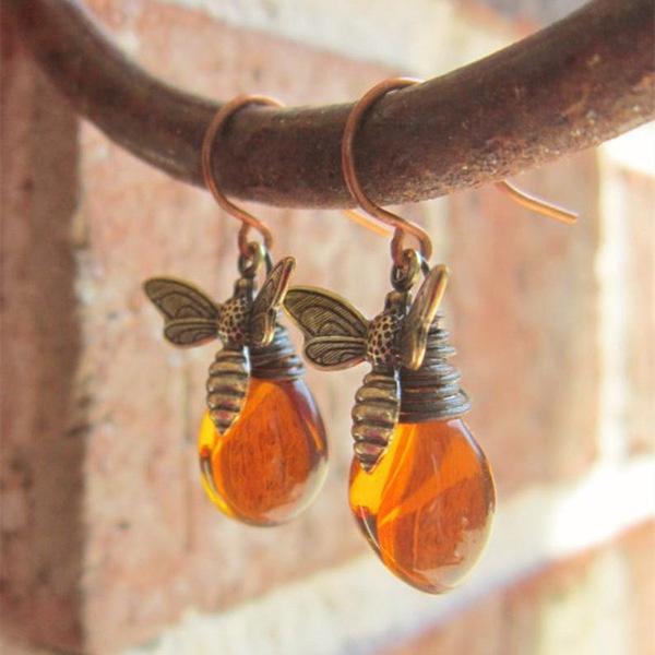 amber, Jewelry, gold, Hooks