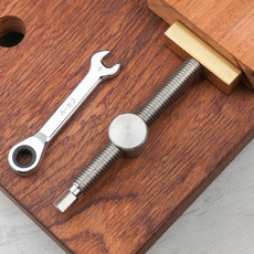 Steel, clamp, woodworkingbenche, Wood