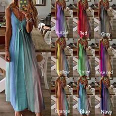 Women's Fashion, Summer, Plus Size, print dress
