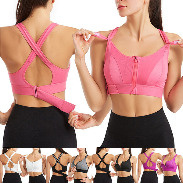 push up bra, Sports Bra, Tank, Zip