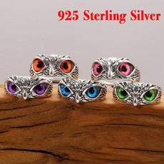 Sterling, cute, animalring, Jewelry