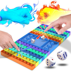 kids, rainbow, Toy, Chess
