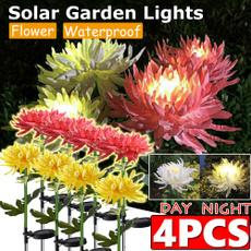 solarflowerlight, Flowers, led, solarlandscapelight
