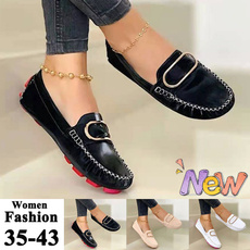 casual shoes, Plus Size, shoes for womens, leather shoes