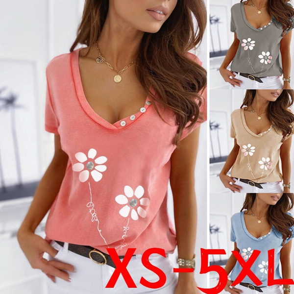 Summer, Plus Size, Tops & Blouses, Tops