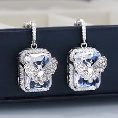 butterfly, Copper, Jewelry, Earring