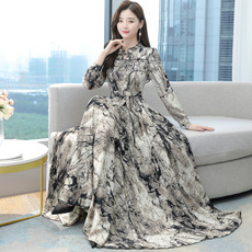 slim dress, koreanversionisthin, slim, neck dress