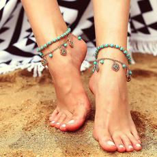 elegantbracelet, Turquoise, Flowers, Jewelry