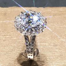 Sterling, whitegoldring, DIAMOND, Jewelry