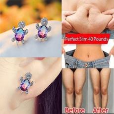 Turtle, cute, Fashion, moissanite earrings